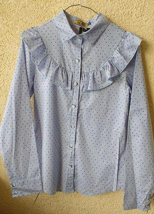 Классическая блуза на пуговицах binka