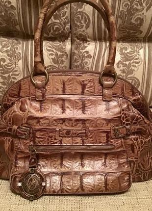 Итальянская сумка valentino orlandi, натуральная кожа, оригинал!