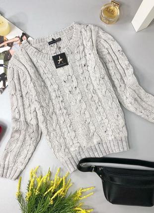 🔥 total sale 🔥стильный свитер в косы atmosphere