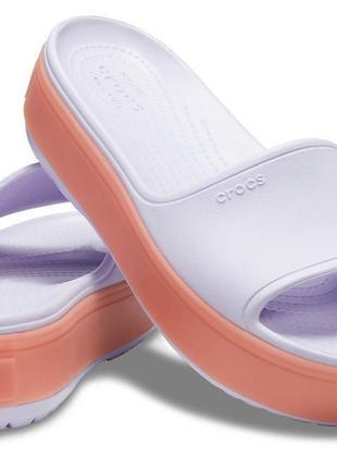 Crocs crocband platform slide оригинал америка