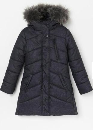 Зимняя куртка пальто reserved 158см