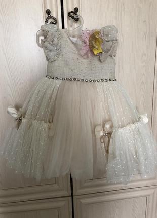 Платье на девочку 1 года.