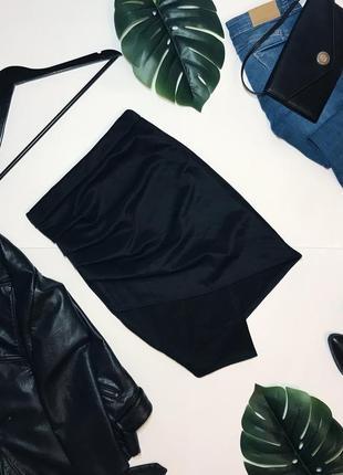 Шикарная юбка миди карандаш на высокой талии от boohoo. 10/38/m