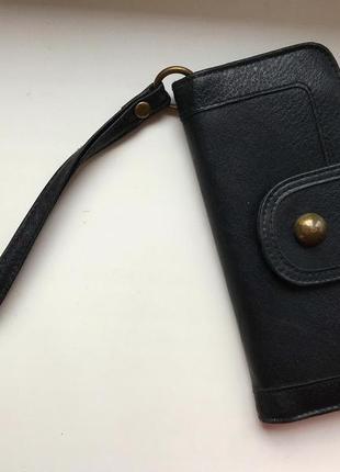Стильный кошелёк ,органайзер ,клатч из эко кожи с ремешком