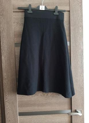 Вязаная юбка.