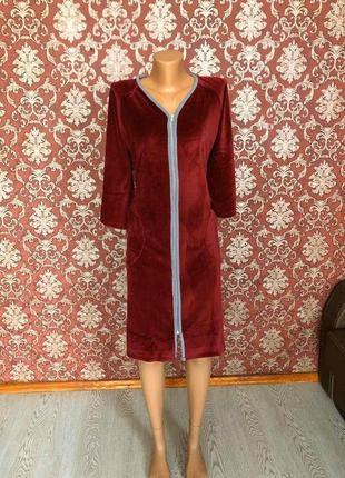 Велюровий халат