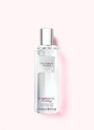 Bombshell holiday victoria's secret парфюмированный спрей мист для тела