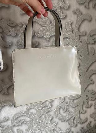 Karen millen женская брендовая сумка ретро винтаж оригинал