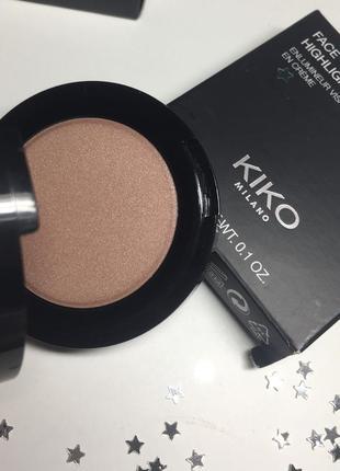 Кремовый хайлайтер kiko face highlighter