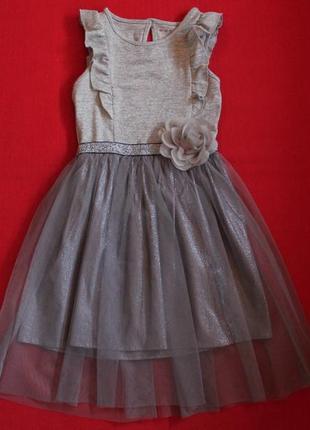 Платье nutmeg для девочки 5-6 лет