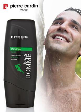 Pierre cardin shower gel 300 ml - energy гель для душа