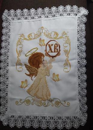 Детский вышитый рушник