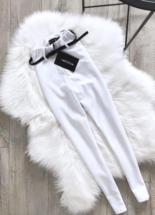 Білосніжні штани