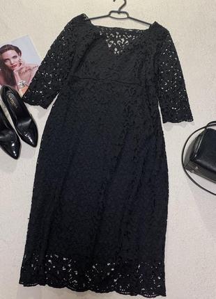 Стильное ажурное платье,размер xxl