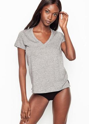 Классная пижамная футболка victoria's secret