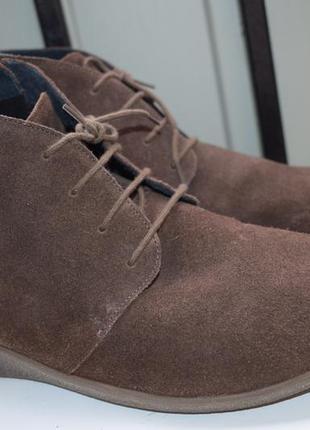 Замшевые ботинки демисезонные ботильоны ортопедические