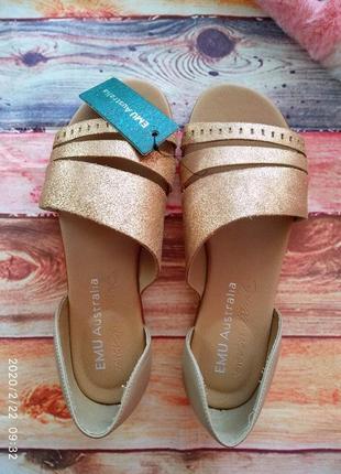 Кожаные 💣 сандалии/босоножки оригинал! emu australia