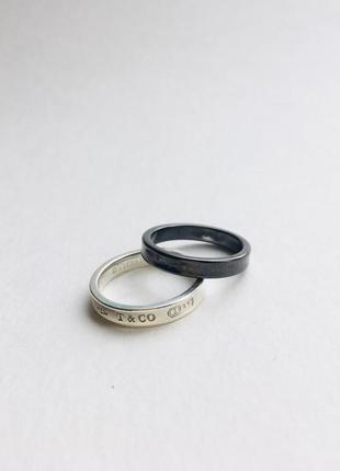 Оригинальные кольца tiffany & co.