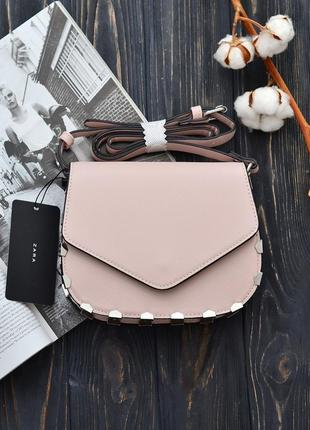Очень красивый нежный  клатч, сумка от zarа