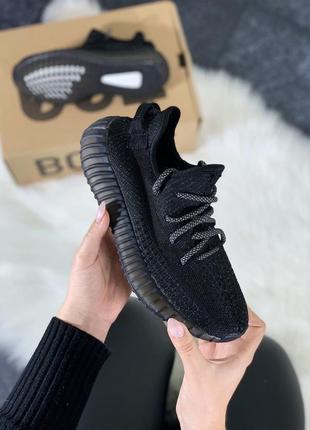 Шикарные кроссовки adidas yeezy boost 350 reflective