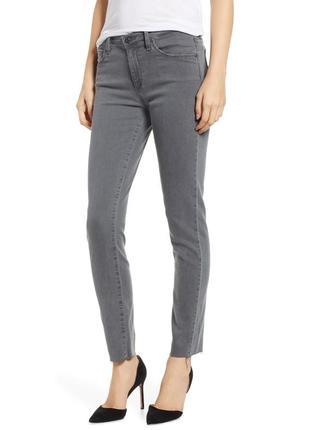 Серые джинсы штаны скинни monki