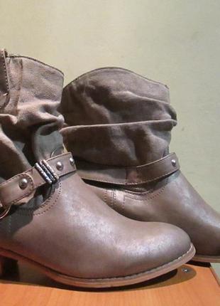 Ботильоны / демисезонные ботинки street / казаки