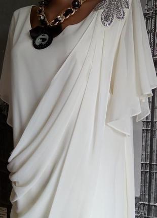 Елегантна коктейльна сукня, батал