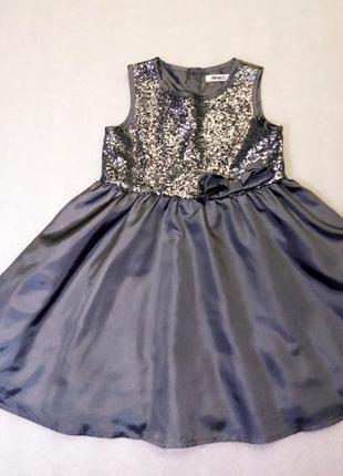 Нарядное платье pepco с пайетками