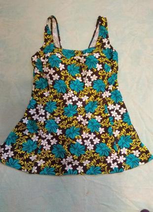 Купальник-платье.