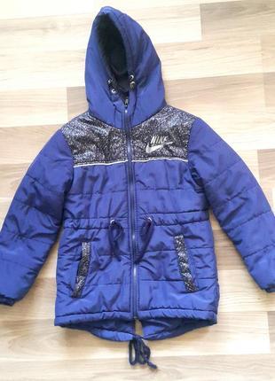 Демисезонная куртка парка для мальчика на весну осень