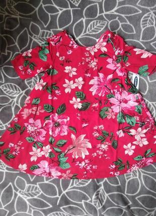 Нарядное платье для девочки олд неви