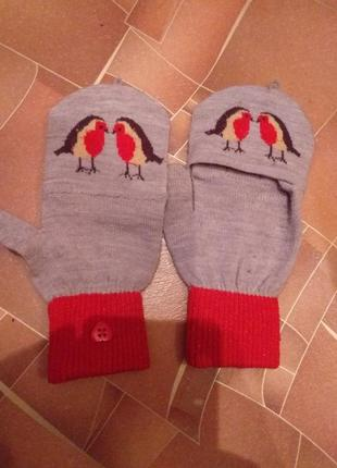 Перчатки- варешки