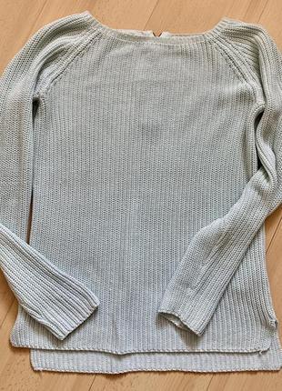 Светло бирюзовый свитер