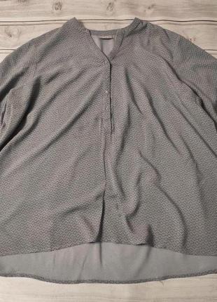 Комфортная натуральная вискозная блуза, размер 26/282 фото