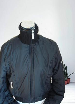 🍂🍂 d&g реплика стильная молодежная утепленная черная куртка- бомбер турция 🍂🍂