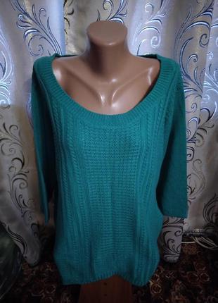 Шикарный свитер на пышные формы marisota