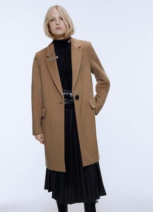 Пальто camel