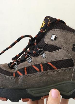 Ботинки jack wolfskin размер 34.