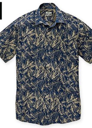 100% хлопок! стильная рубашка короткий рукав м 39/40 watsons by lidl германия