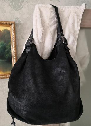 Красивая большая кожаная сумкаmax&co👜👜🔥