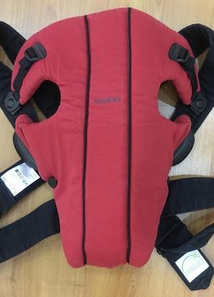 Фирменный качественный рюкзак-переноска  кенгуру  для малыша  babybjorn