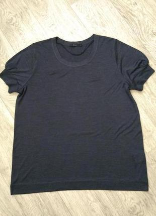 Шёлковая футболка cos большого размера