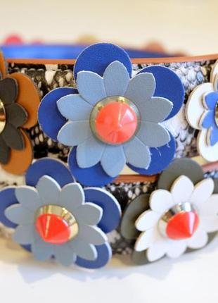 cd7462a0222c Модный ремень для сумки - strap you - цветы fendi Fendi, цена - 1000 ...
