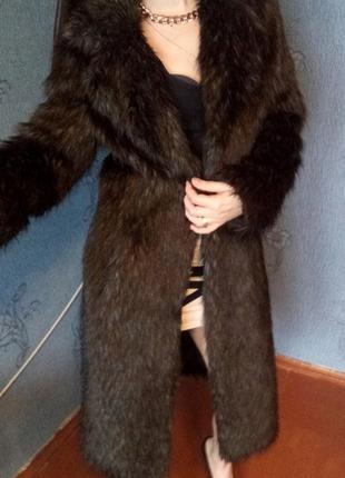 Только 3 дня!!!шикааарная брендовая шуба,шубка river island класса люкс, коричневая, пальто3