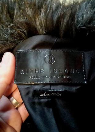 Только 3 дня!!!шикааарная брендовая шуба,шубка river island класса люкс, коричневая, пальто4