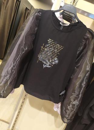 Неймовірна блуза з пишним рукавом
