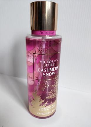 Парфюмированный спрей для тела victoria's secret cashmere snow