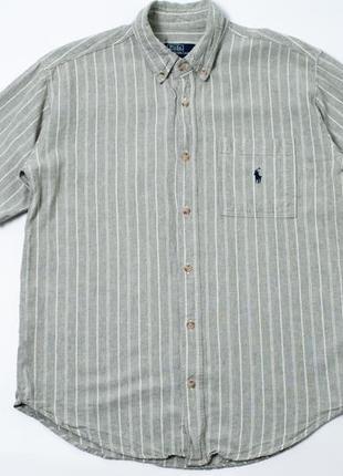 Vintage polo by ralph lauren винтаж мужская рубашка