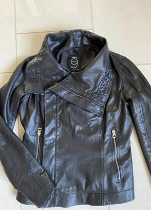 Куртка кожаная косуха эксклюзив дизайнерская gloomy italy размер s