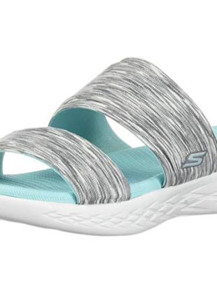 Тапочки пляжные женские skechers, размер 42